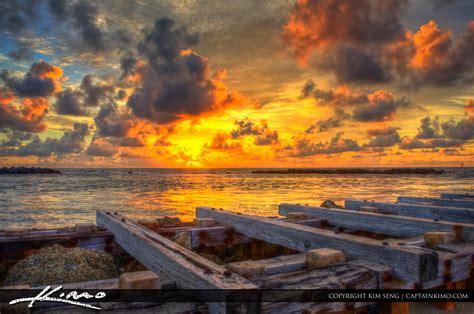 sunrise  hillsboro inlet pompano beach florida