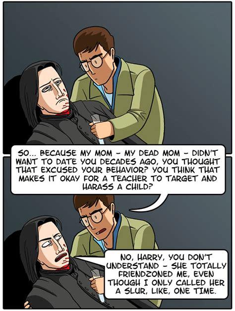 Why Snape's Tragic Back Story Isn't So Tragic Dorkly