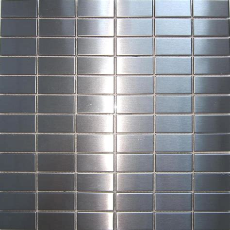 stainless steel kitchen wall tiles stainless steel brushed metal kitchen bathroom shower 8285