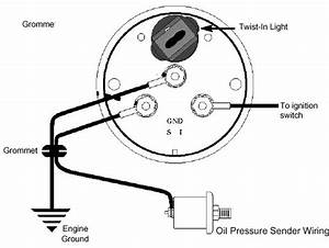 Electric Oil Pressure Gauge Wiring Diagram