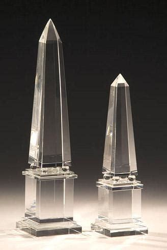 crystal accessories crystal obelisks and solid crystal