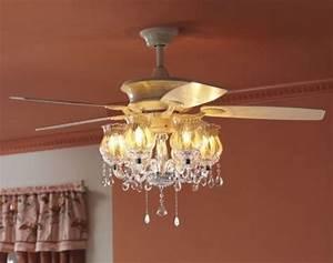 Chandelier kit for ceiling fan light