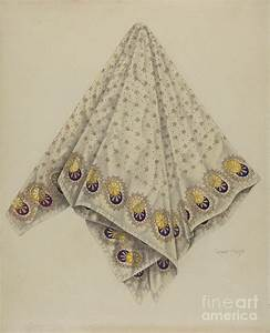 Handkerchief Drawing by Grace Halpin