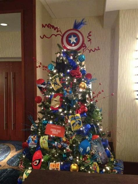 avengers tree maybe i can do this but they wont leave it