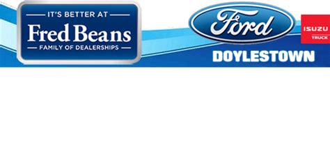 fred beans ford  doylestown