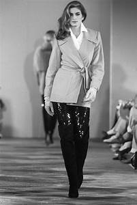 From the Archives: Cindy Crawford's '90s Supermodel Runway ...