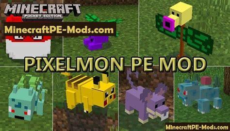pixelmon mod for minecraft pe 1 7 0 1 6 1 1 5 3 1 4 4