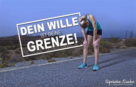 sport motivation dein wille ist deine grenze spr 252 che