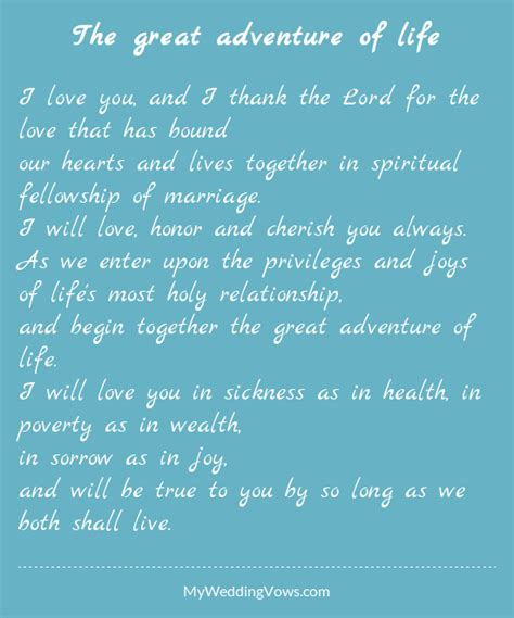 traditional wedding vows  ideas youll love