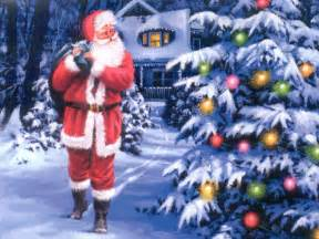 santa claus christmas wallpaper 2736325 fanpop
