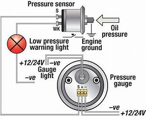 Image Result For Wiring Diagram For Vdo Oil Pressure And Temperature