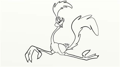 daily cartoon drawings drawing road runner