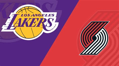 portland trail blazers  los angeles lakers