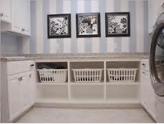 Laundry Room Decorating Ideas Take Off The Cupboards And Slide Baskets Laundry Room Organization Can Be Very Simple There Is Not A Whole Lot Diy Laundry Room Storage Ideas Pipe Shelving Laundry Room Ideas Ideas For Laundry Room Storage