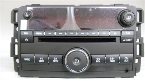 radio cd player saturn new 07 08 saturn outlook vue aura ion radio stereo mp3 cd player aux 25802584 ebay