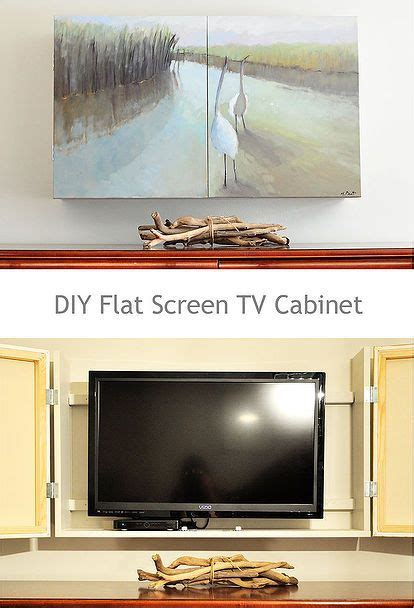 60 best flat diy images 8 best images about television hideaways on