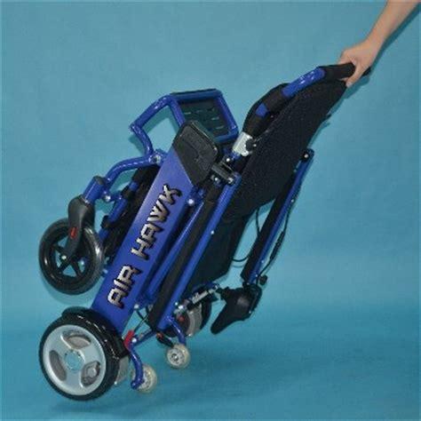 the air hawk portable lightweight power wheelchair