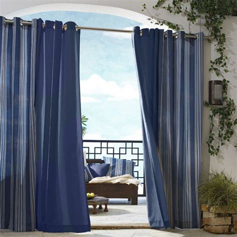 gazebo solid outdoor curtains homeinfatuation