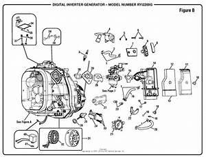Homelite Ryi2200g Digital Inverter Generator Parts Diagram