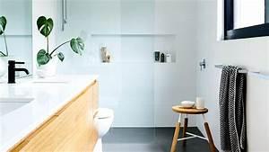 Renovation Mur Salle De Bain : prix moyens d 39 une salle de bain sol mur douche baignoire ~ Preciouscoupons.com Idées de Décoration