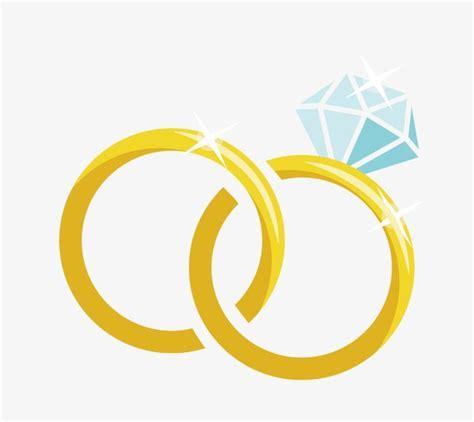 cartoon vector material diamond wedding ring ring vector wedding ring png and vector with