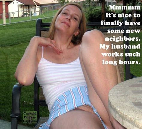 Neighbors Wife Captions Cumception
