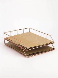 Wire letter tray copper wire letters letter tray and for Wire letter tray