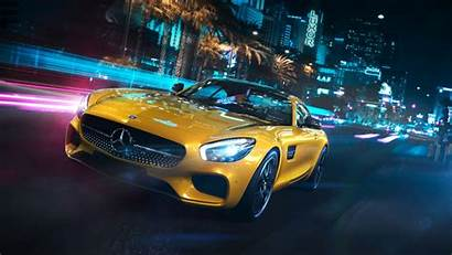 Mercedes Amg Benz Gt Wallpapers Yellow 1080p