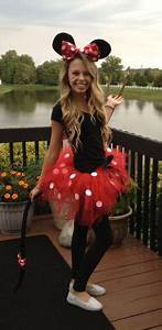 Homemade Minnie Mouse Costume Ideas. | Party time ...