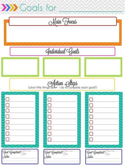 ultimate planning notebook add on monthly goal setting planners and productivity goal