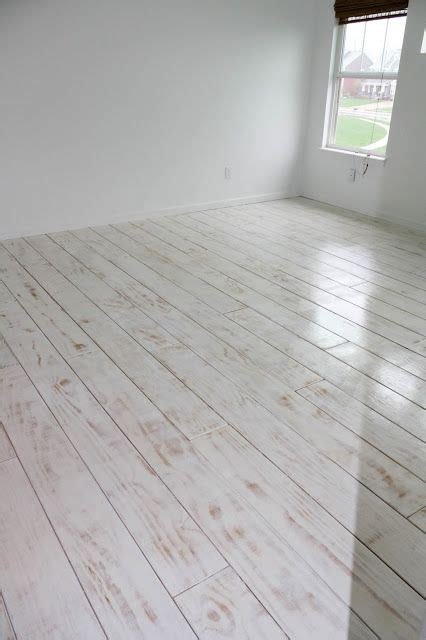 diy planked floors plywood  whitewashed  primer