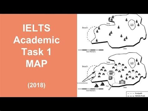 Describe An Ielts Map  Task 1 With Band 9 Sample Answer Youtube