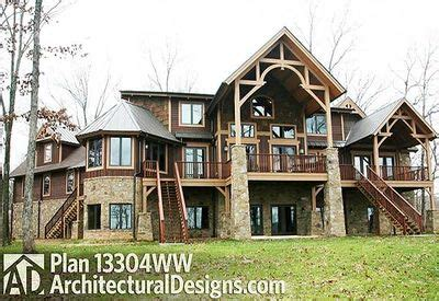 Fabulous Mountain Home Plan  13304ww  Architectural