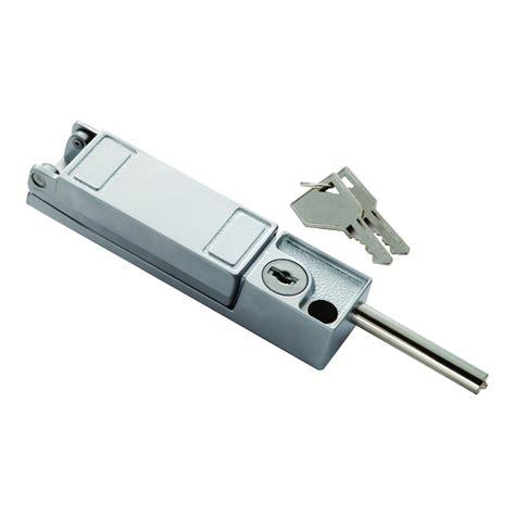 keyed patio door lock security