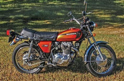 Retrospective: Honda Cl360 Scrambler: 1974-1975