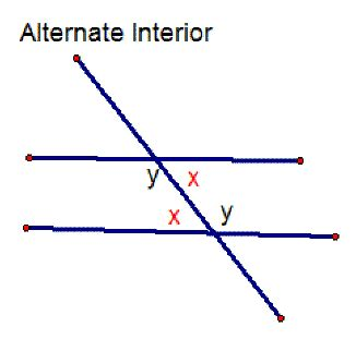 alternate interior angles chapter 3 notes