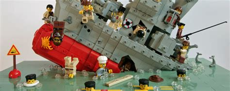 Lego Ship Sinking 1 by Is Social Media A Sinking Ship