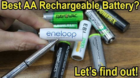 batteries aa rechargeable long battery which test explores term power duracell diy eneloop amazon