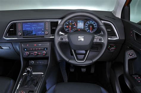 seat ateca interior seat ateca review 2017 autocar
