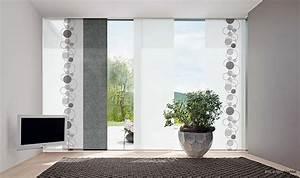 Schiebegardinen Für Wohnzimmer : schiebevorh nge ~ Markanthonyermac.com Haus und Dekorationen
