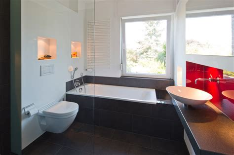 Gäste Wc Mit Dusche Modern  Raum Und Möbeldesign Inspiration
