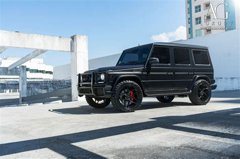 Luxurious equipment meets brute performance: AG Luxury Wheels - Mercedes-Benz G63 AMG Forged Wheels