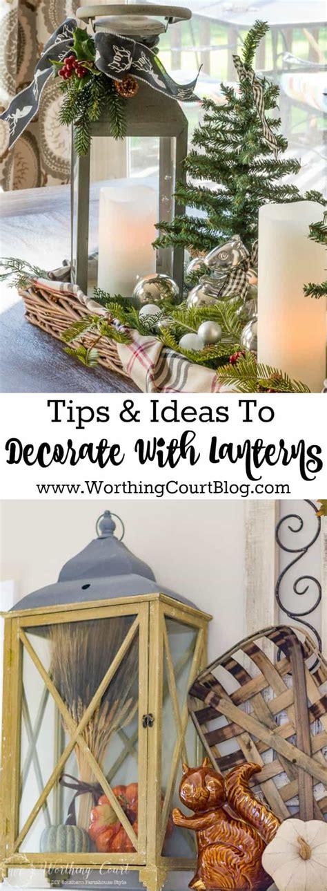 decorating  lanterns worthing court