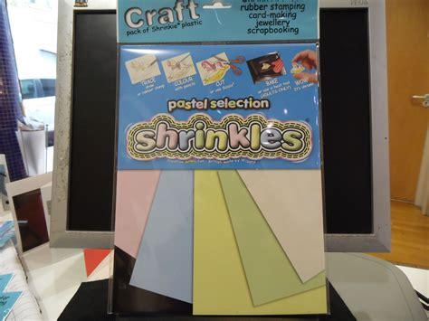 shrinkles craft packs   blank sheets  cm