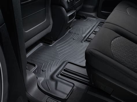 weathertech floor mats gmc weathertech floor mats floorliner for gmc acadia limited 2017 2nd row ebay