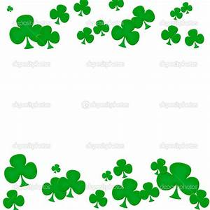 Green Shamrock Border Clipart - Clipart Suggest