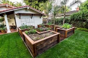 raised garden bed examples on pinterest raised garden With vegetable garden design raised beds