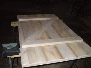 fabrication d une porte en bois r nover soi m me maison With realiser une porte en bois