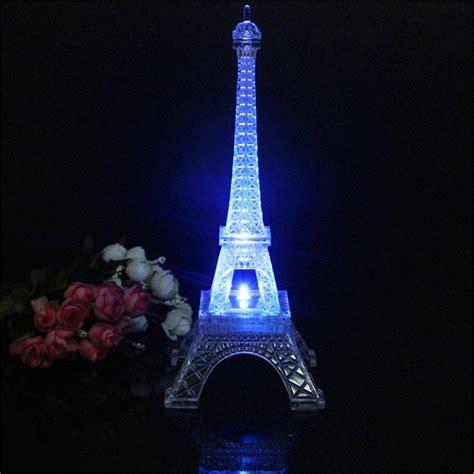 mini color changing eiffel tower light led table l desk bedroom decor alex nld