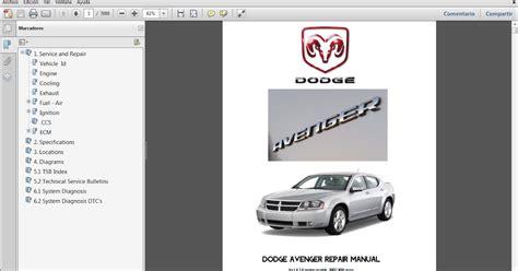 Manual De Taller De Dodge Avenger